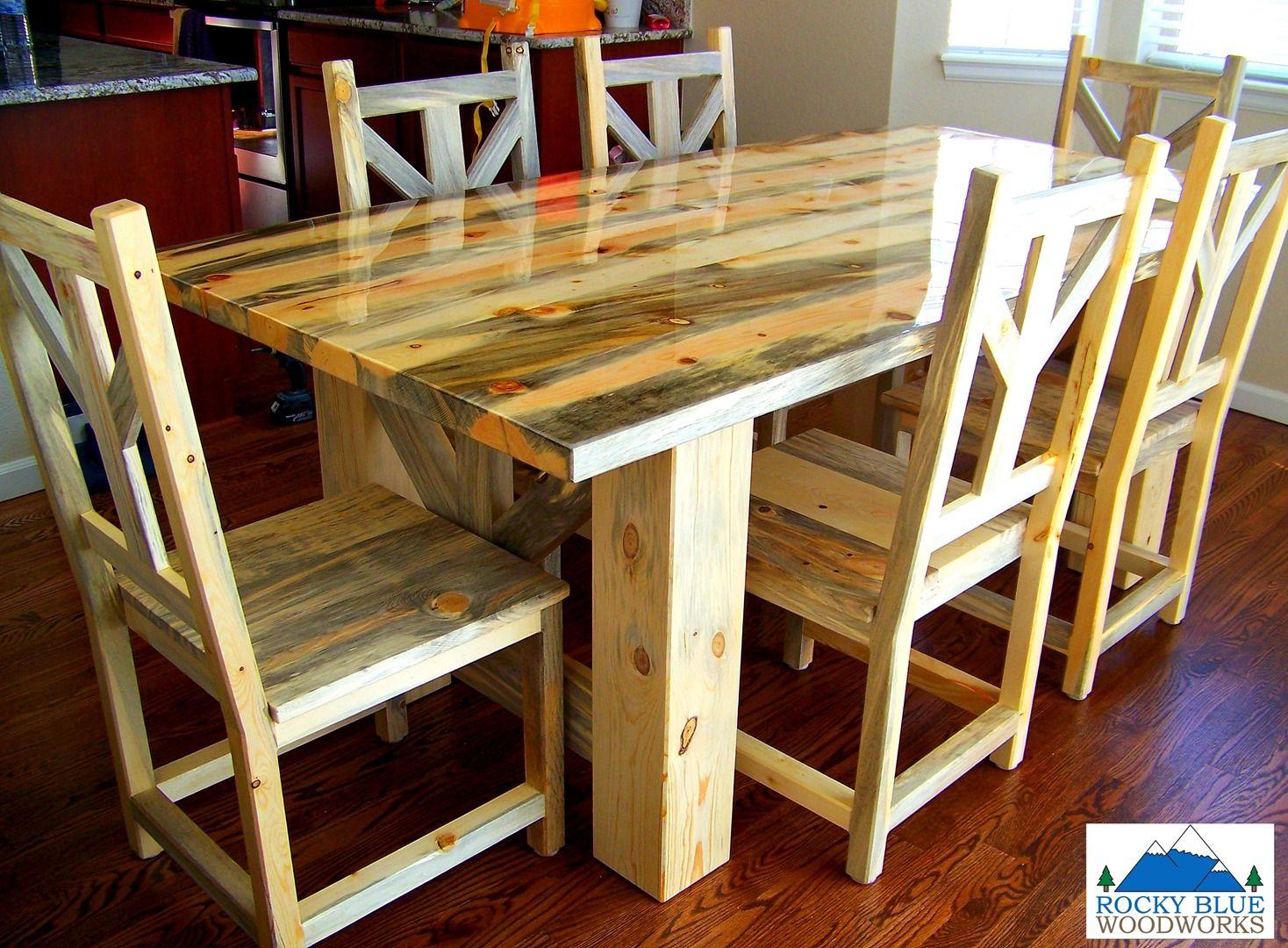 Live Edge Dining Table Colorado Google Search Dining Table Pine Dining Chairs Live Edge Dining Table