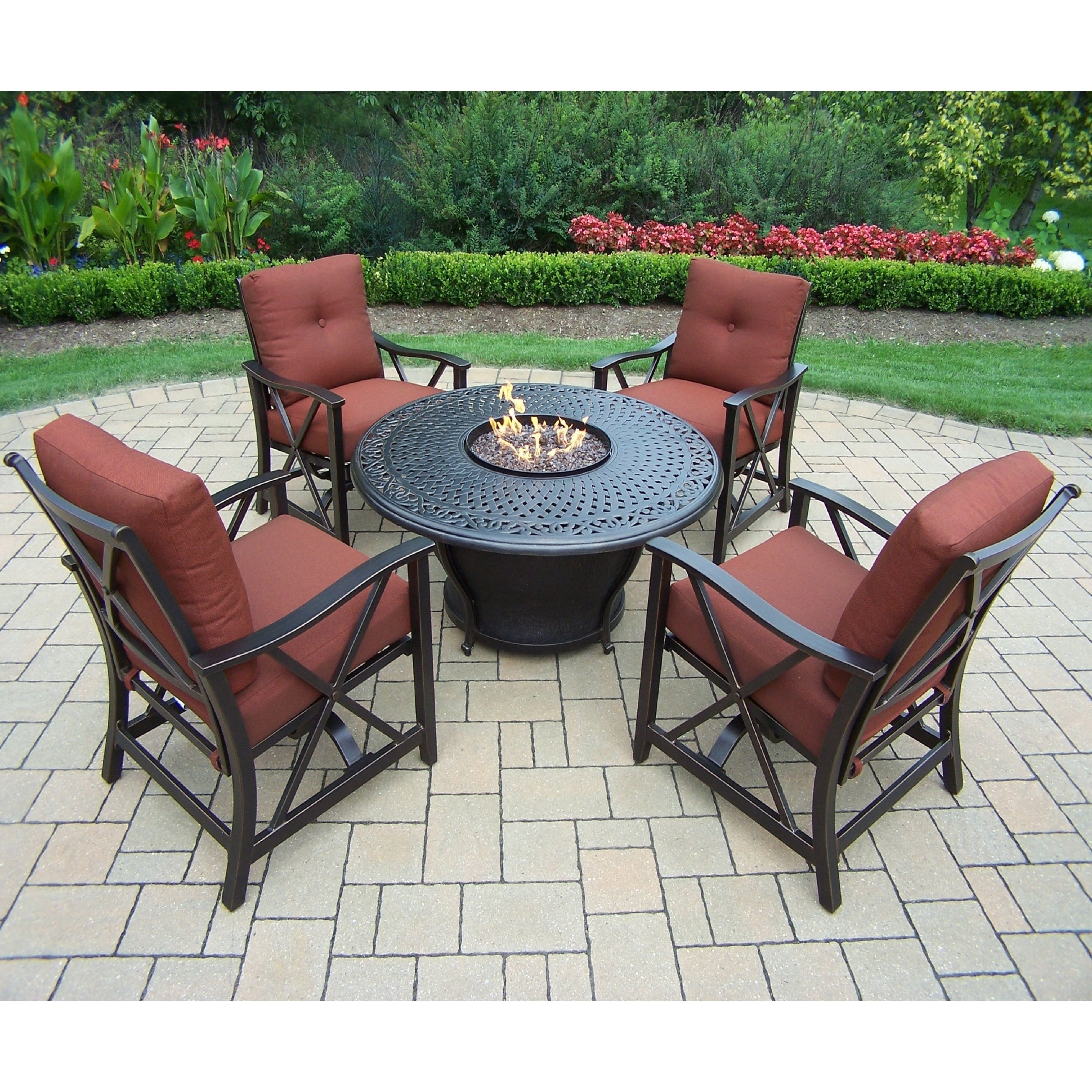 Overstock Com Online Shopping Bedding Furniture Electronics Jewelry Clothing More Fire Pit Chat Set Round Fire Pit Table Fire Pit Seating