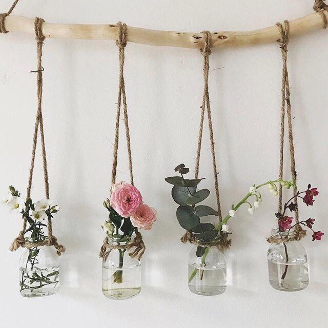 Photo of Staande bloemenplank, bloempotstandaards met hout voor plantenweergave, #decorati …
