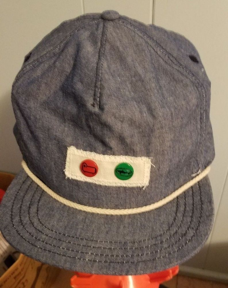 f318bb4a17b NEW Dogfish Head Craft Brewery Gray Cap Hat Adjustable  fashion  clothing   shoes