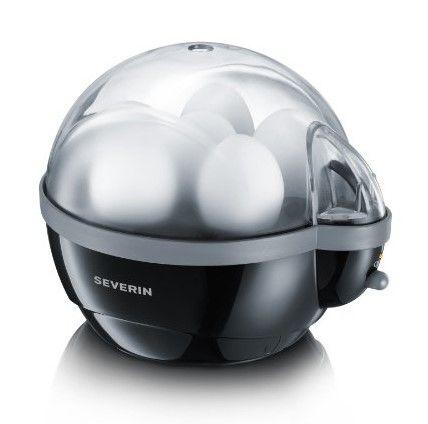 Severin EK 3056 Eierkocher 1-6 Eier schwarz-grau Blogger Pinterest - schwarz weiße küche