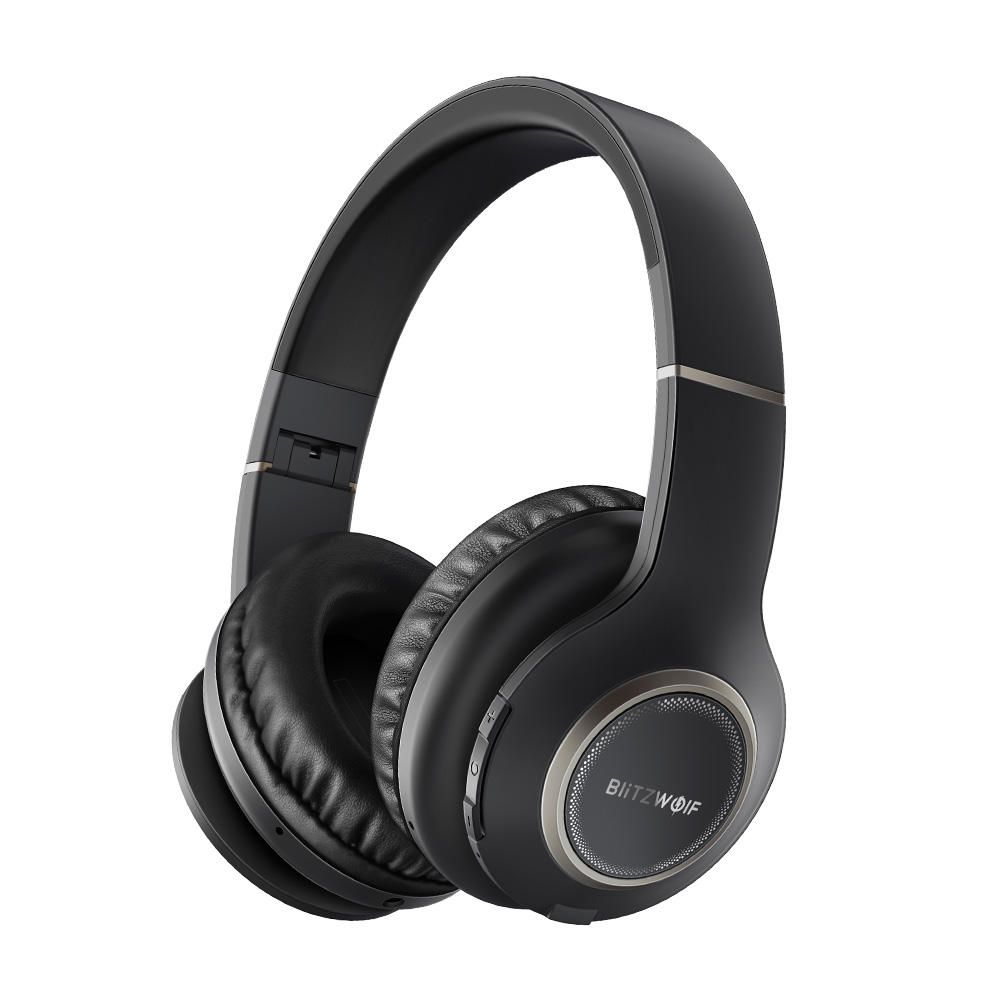 Blitzwolf® BWHP0 Wireless bluetooth Headphone Portable