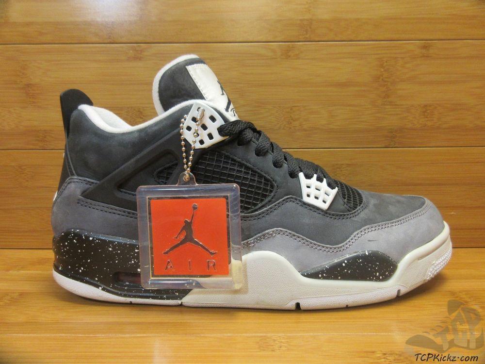 39580279390d71 Nike Air Jordan IV 4 s sz 9.5 IX Fear Pack Retro Mars Cool Grey Black White   Jordan  AthleticSneakers