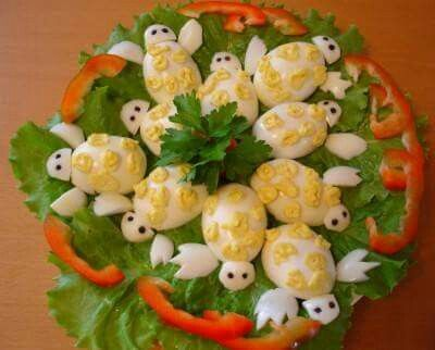 Huevos Tortuga Comida Artistica Comida Y Huevos