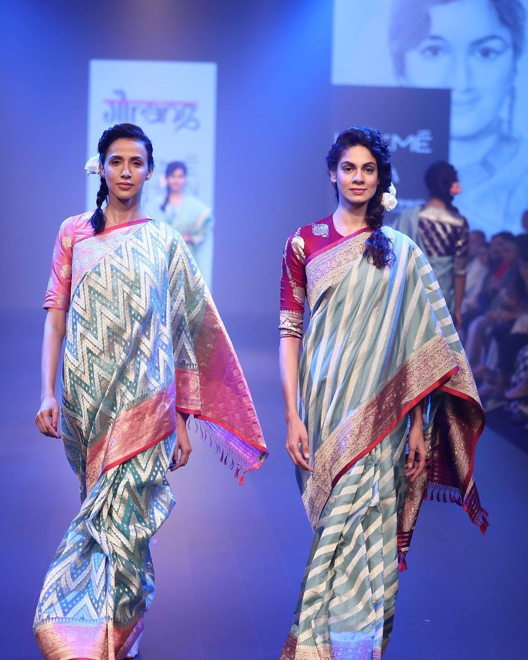 Pin By Swegna Designerworld On Designer Saree S Indian Saree Blouses Designs Lakme Fashion Week Boat Neck Blouse Design