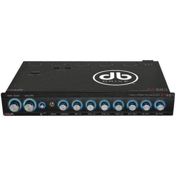 Db Drive E7eq7 Okur Series 7 Band Parametric Equalizer Products