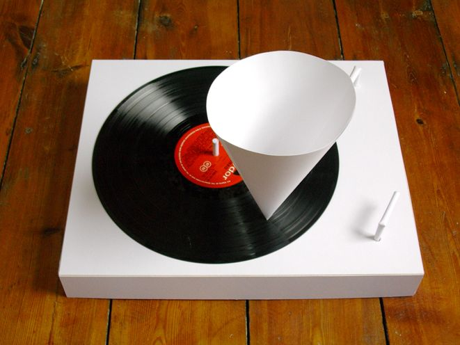 Paper Record Player Turntables Art Turntable Record Player