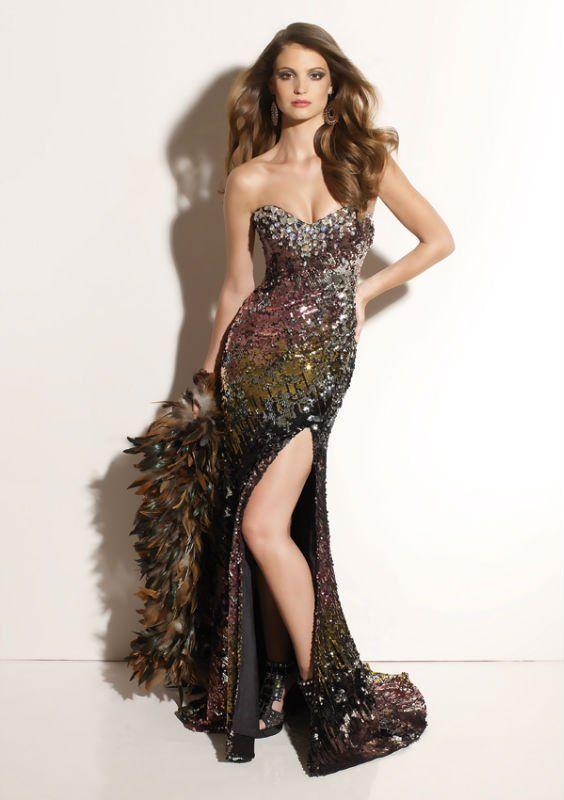 Vestidos sensuales de noche buscar con google vestidos for Colores sensuales