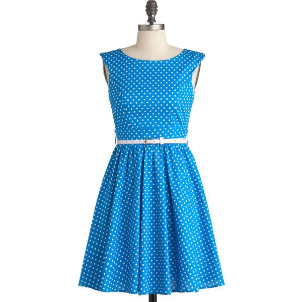 Azul You Like It Dress ($53) found on Polyvore