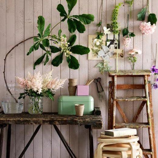 Ideas creativas para decorar con escaleras una opci n for Ideas creativas para decorar