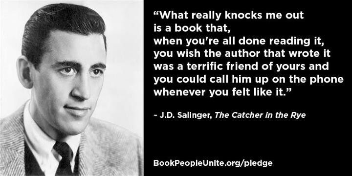 J.D. Salinger Favorite quotes