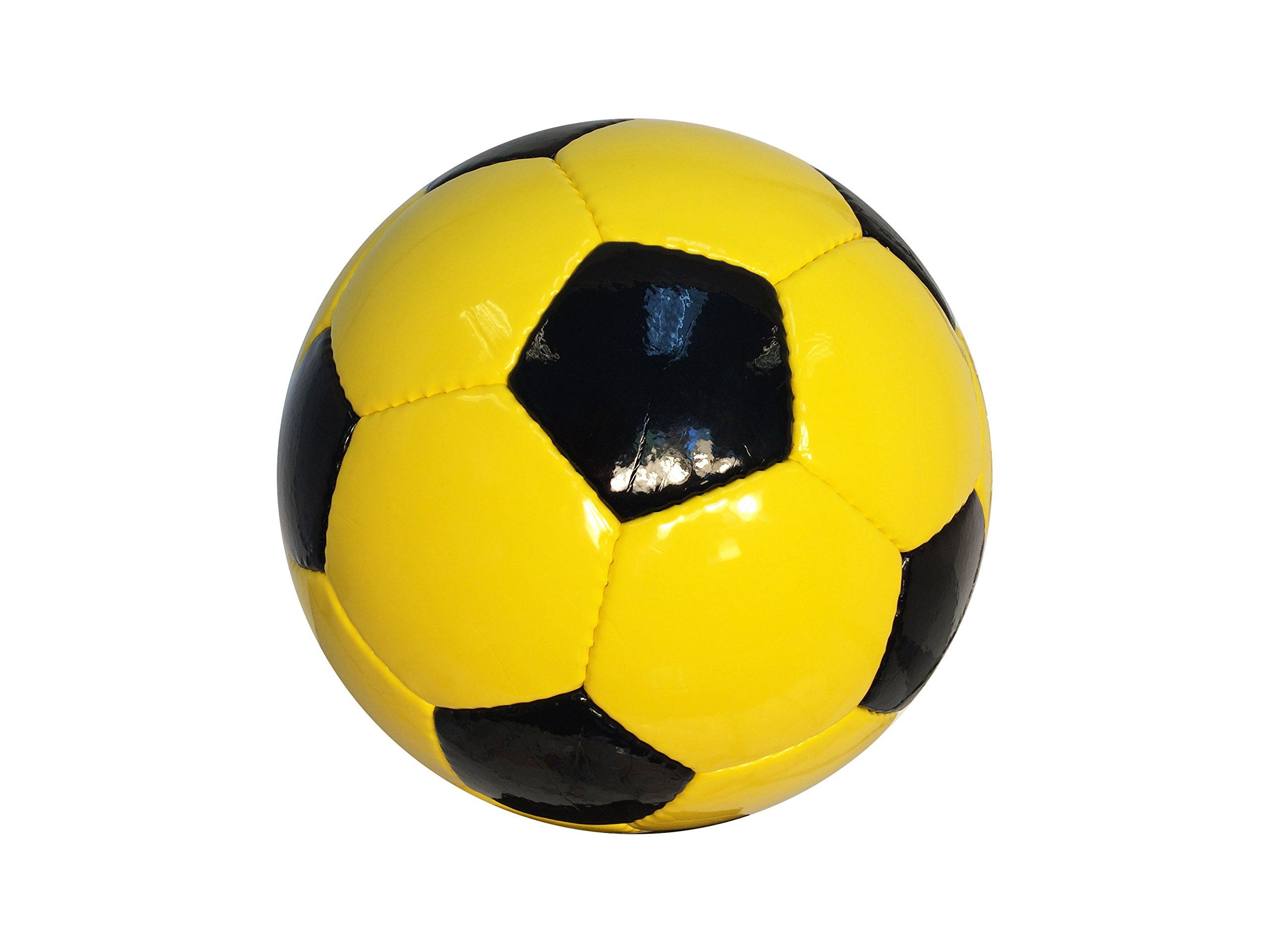 Soccer Balls Classic Collection Black Pentagons Gold Hexagons Solid Colored Panels Without Any Imprint Official Size Soccer Balls Soccer Classic Collection