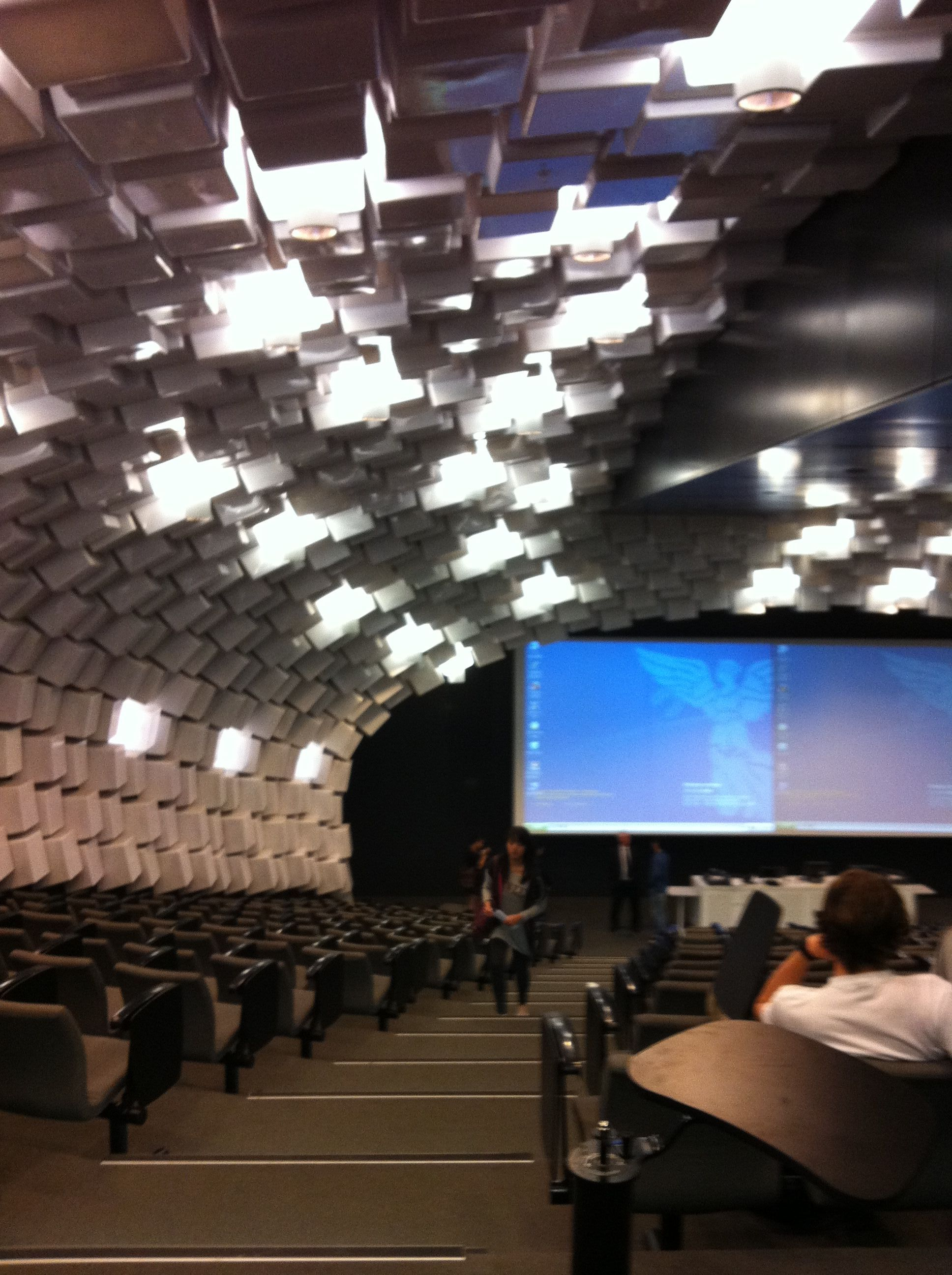 Lecture Hall Lightings At University Of Melbourne Favorite