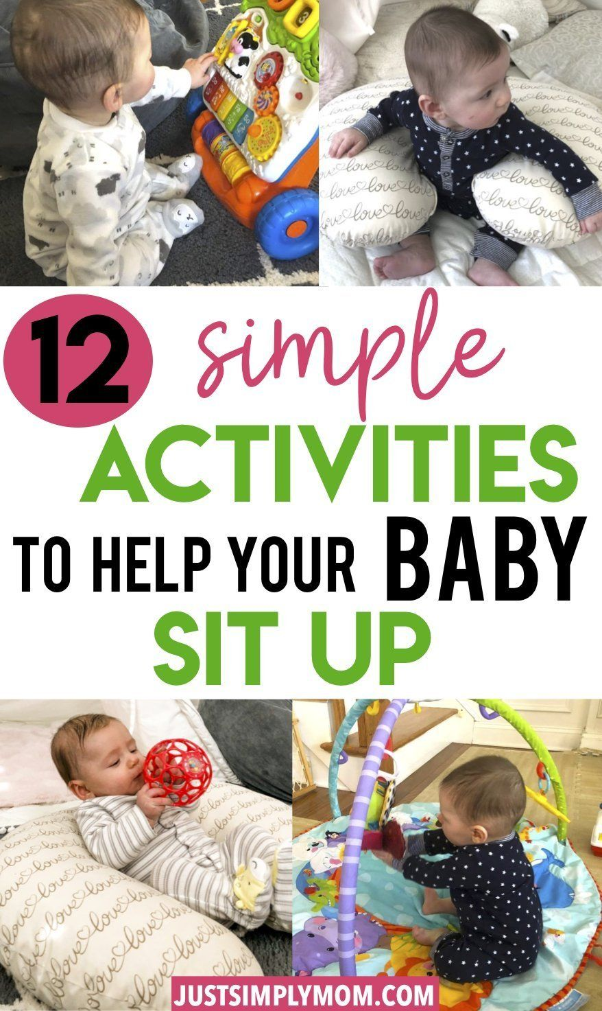 When Can Your Baby Sit Up And How To Help Them Sit Up On Their Own Baby Development Infant Activities New Baby Products