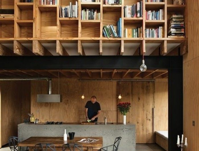 ▷ 1001+ idées comment décorer vos intérieurs avec une niche murale - fabriquer sa cuisine en bois