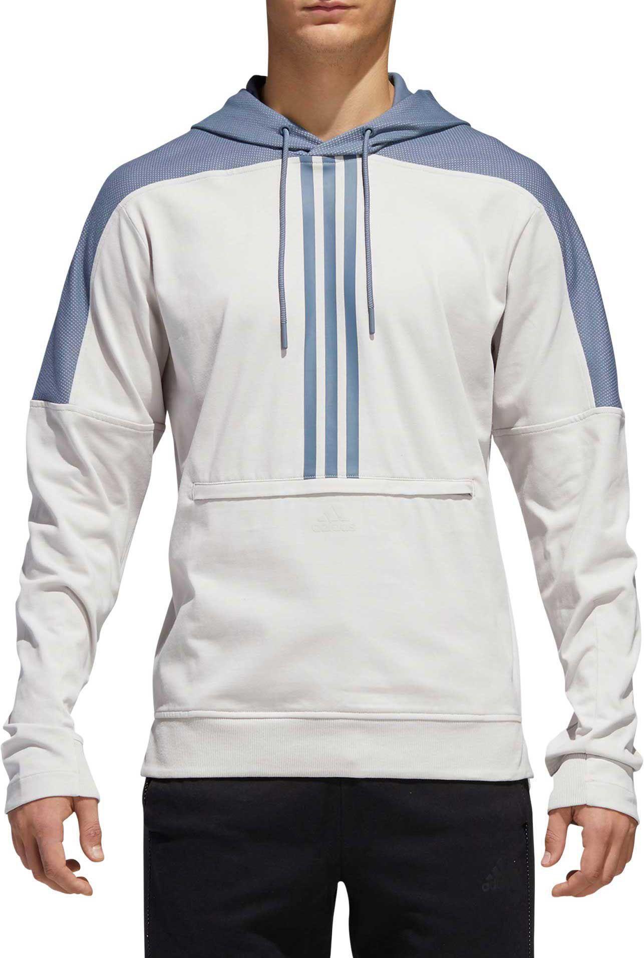 dcdf95970bc adidas Men's Sport ID Cotton Hoodie | Products | Adidas Men, Adidas ...