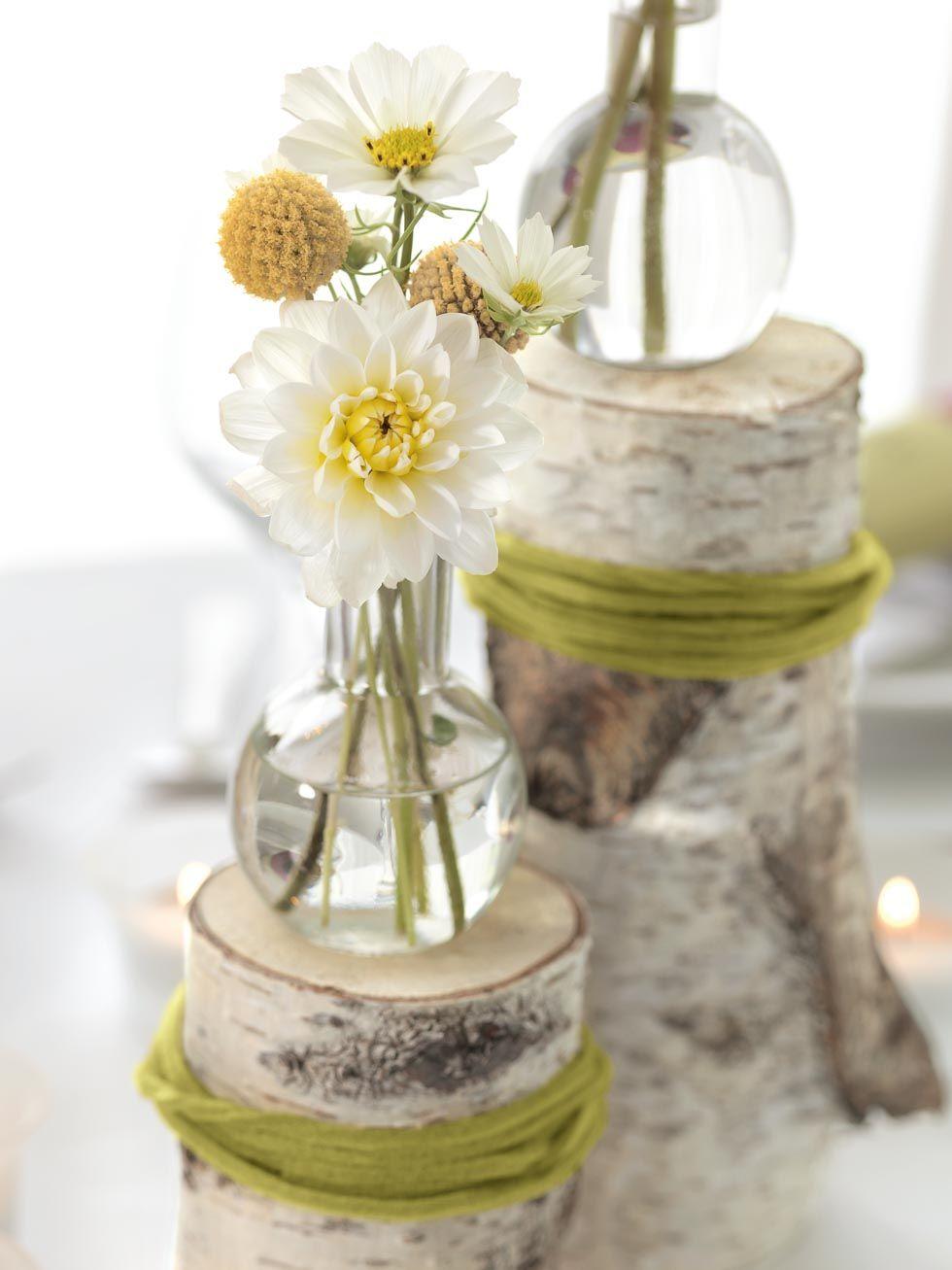 landromantik tischdekoration mit birkenst mmen wedding. Black Bedroom Furniture Sets. Home Design Ideas