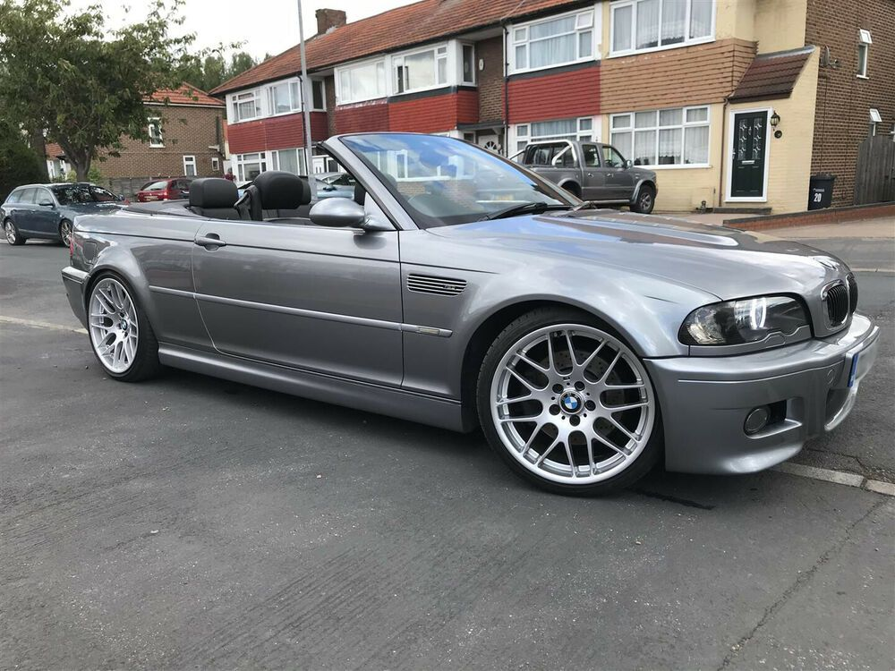 2004 Bmw M3 Manual E46 Convertible Fully Loaded With Geniune 19