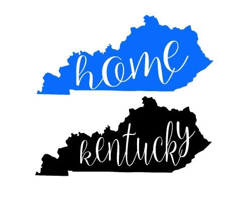 Related Image Cricut Projects Cricut Kentucky Outline