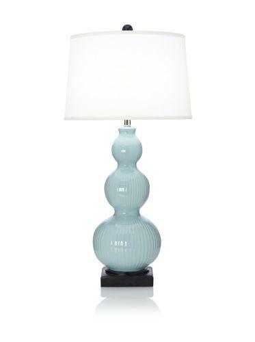 55% OFF Bella Table Lamp (Seafoam)