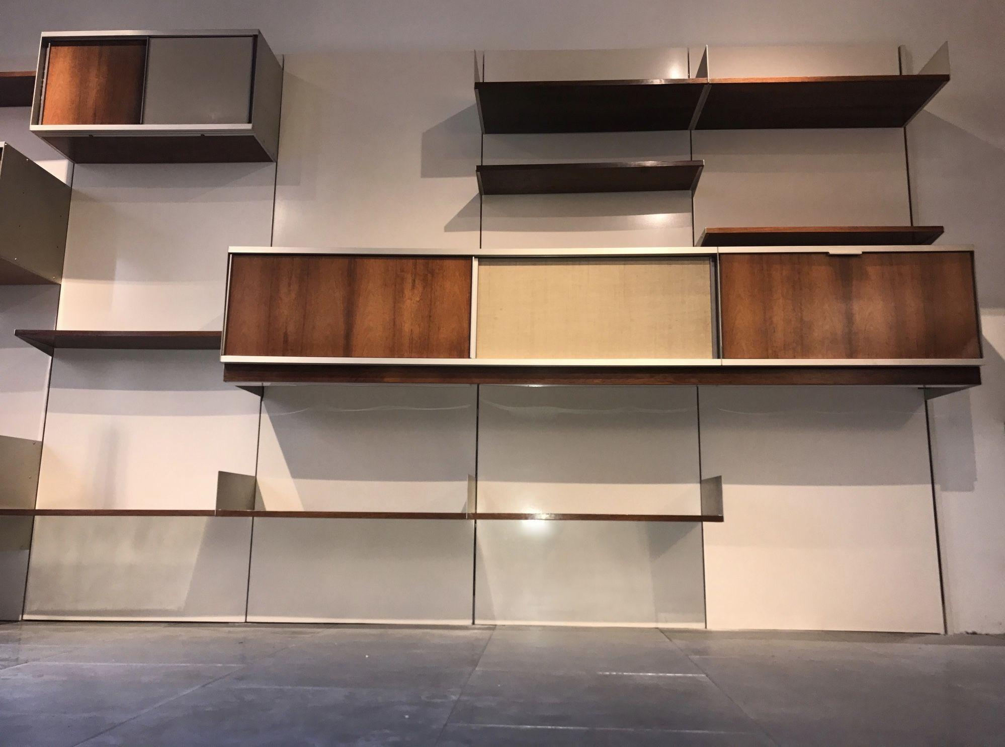 Bibliotheque Vintage En Palissandre Par Georges Frydman Pour Efa Design Market Idees De Design D Interieur Design Mobilier De Salon