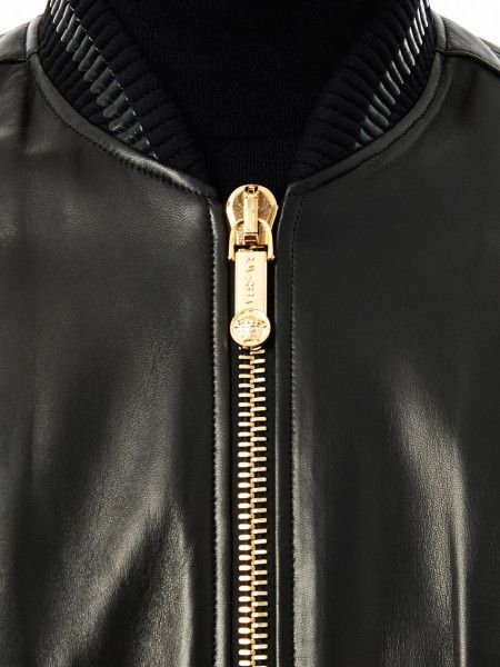 Versace leather jacket! (Top!) | clothes | Pinterest | Tops