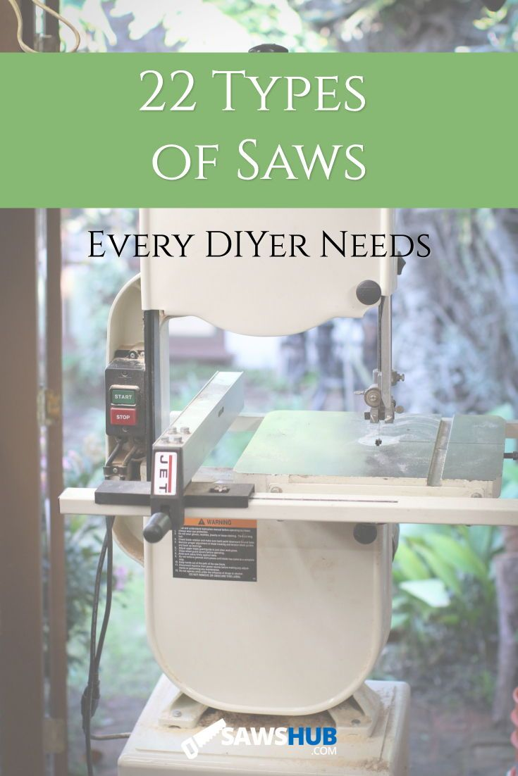 22 Different Types of Saws and their Uses for DIYers | Saw ...