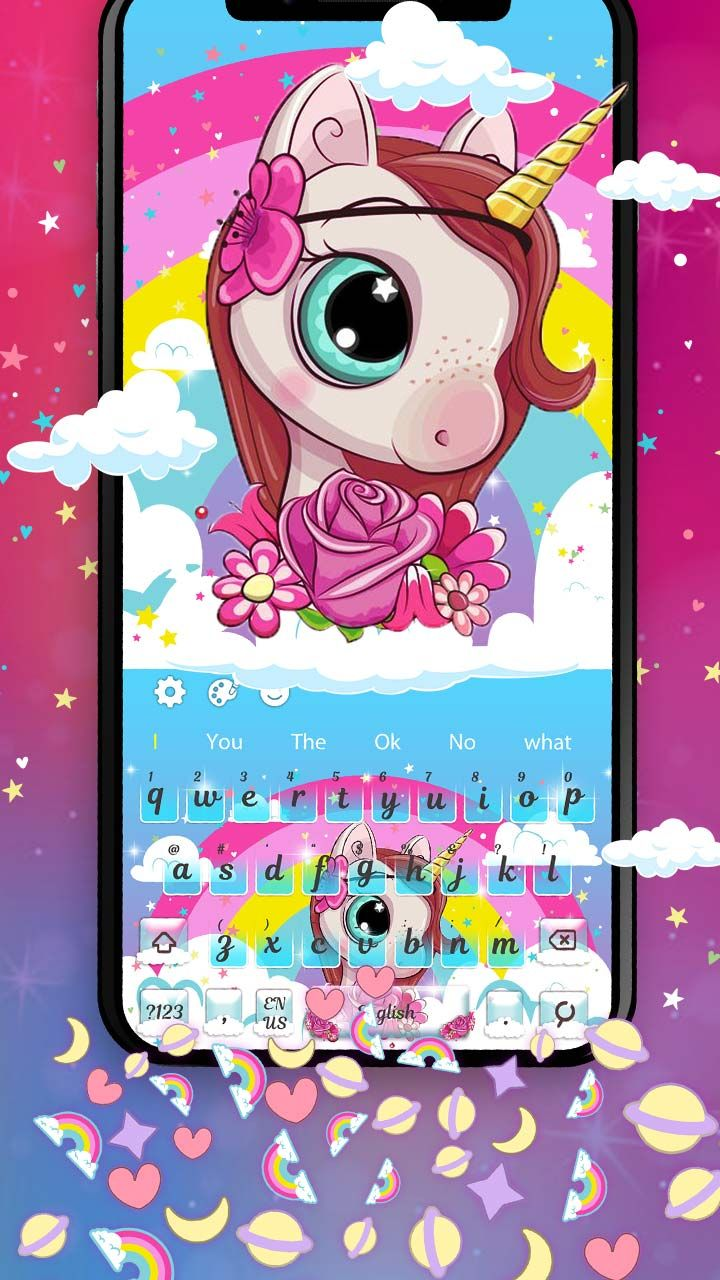 Customize your phone with this new cute Girly Unicorn