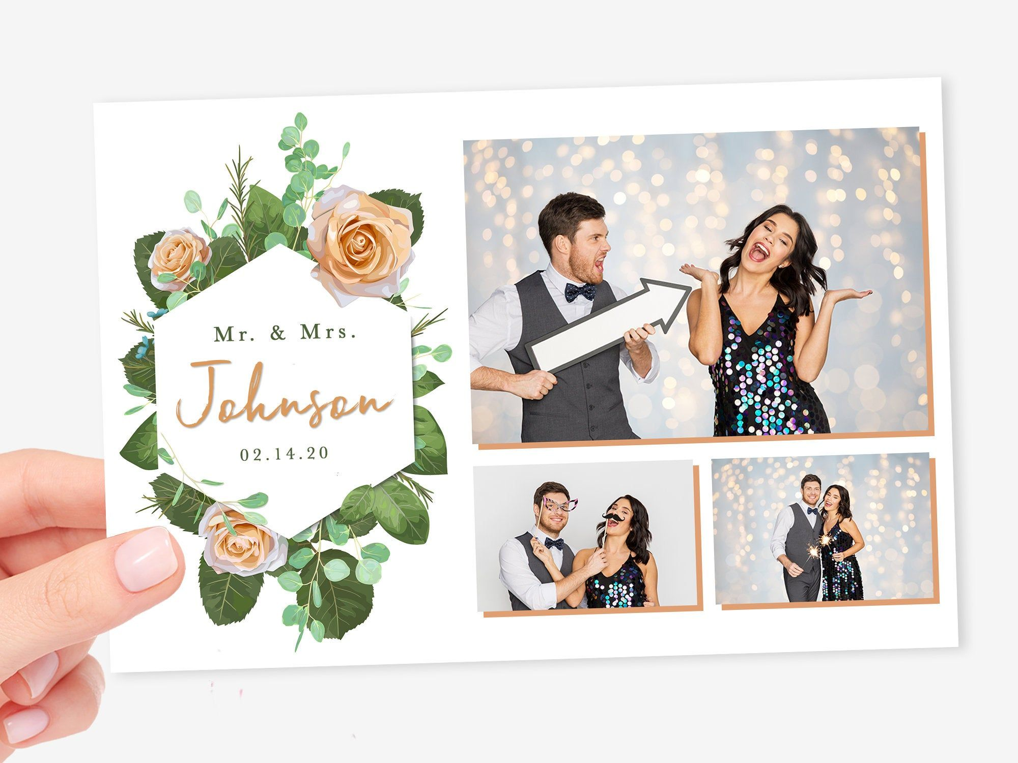 Floral Photo Booth Template Wedding Photo Booth Template Etsy In 2021 Wedding Photo Booth Photo Booth Photobooth Template