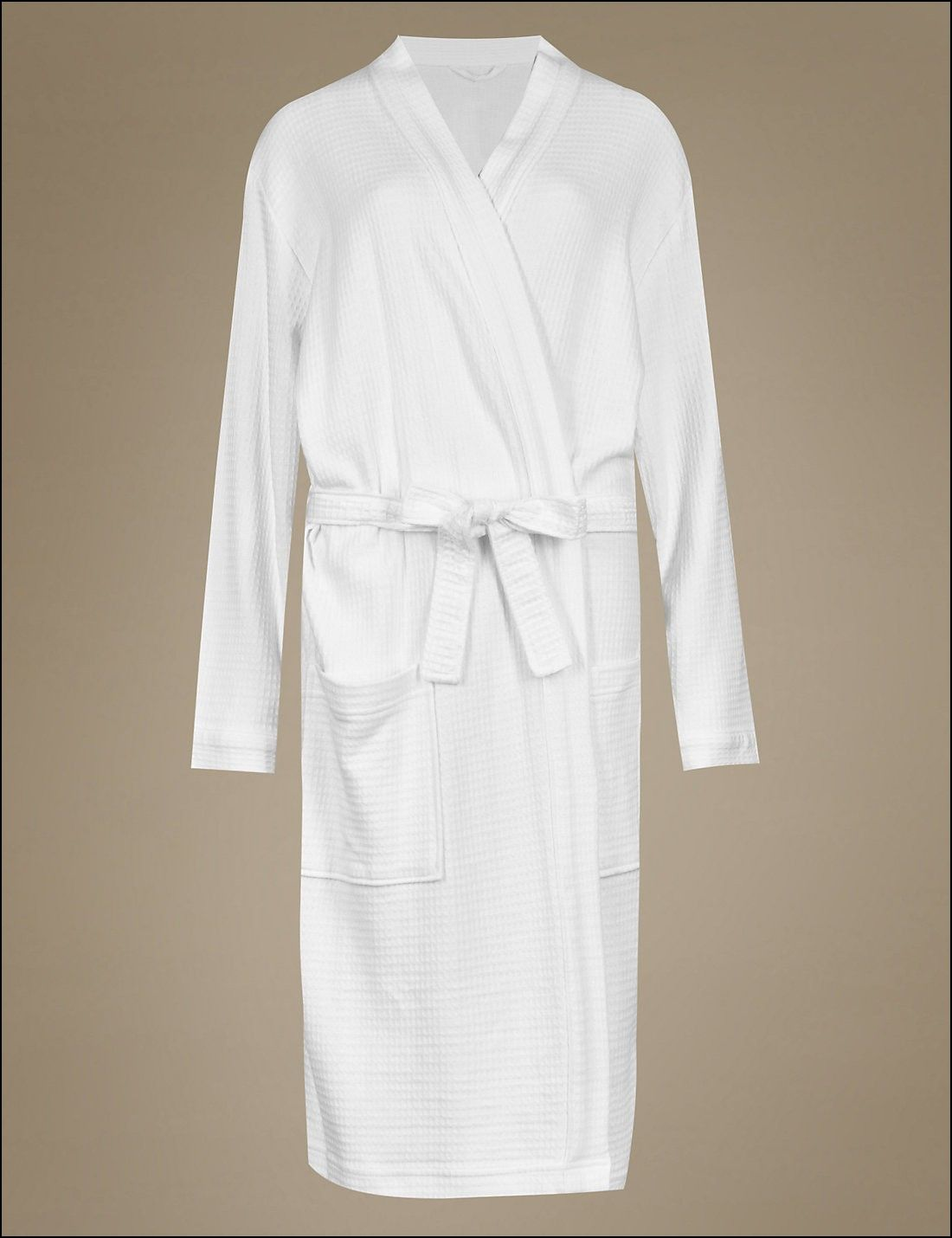 Lightweight Waffle Dressing Gown | Dresses and Gowns Ideas ...