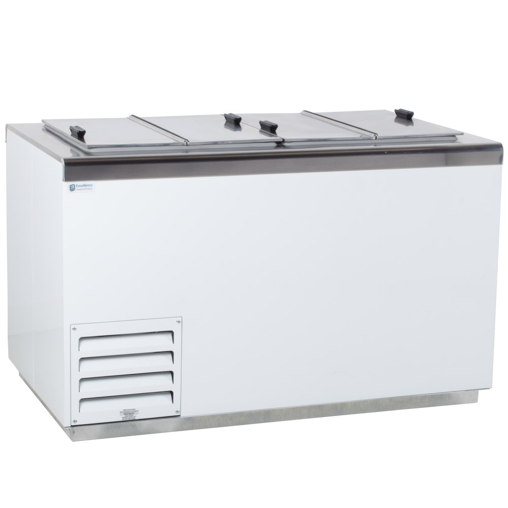 Excellence Hff 8hc 54 Flip Lid Ice Cream Dipping Cabinet Ice Cream Ice Cream Freezer Ice Cream Truck