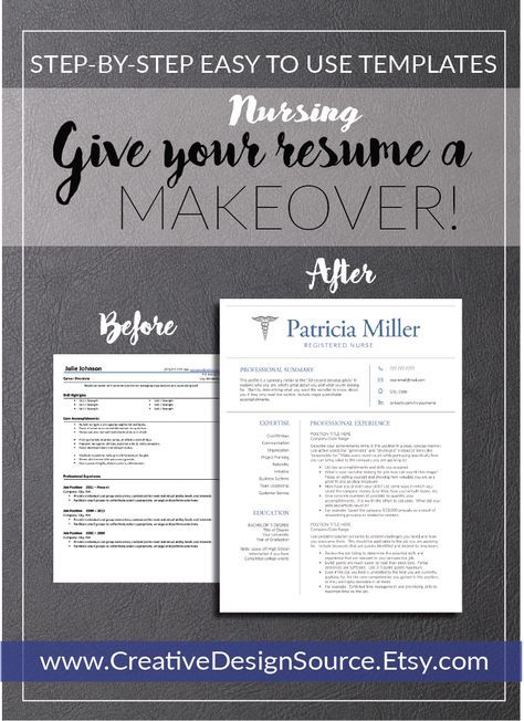 nursing resume template    nurse resume template that make it easy to look good  fully