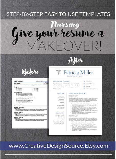 nursing resume template    nurse resume template that make it easy to look good  fully