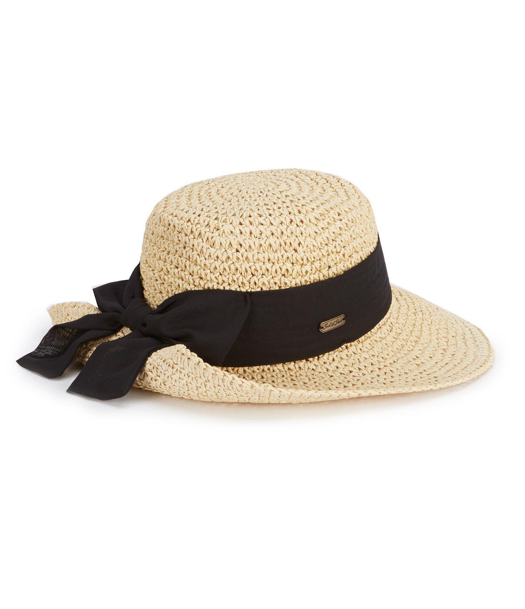 Sun N Sand Natural Floppy Crochet Hat  Dillards  0ac2626d2e4