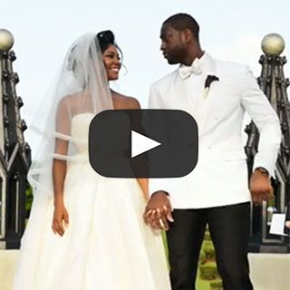 Gabrielle union and dwyane wade turned their wedding video into a gabrielle union and dwyane wade turned their wedding video into a rom com movie trailer junglespirit Gallery