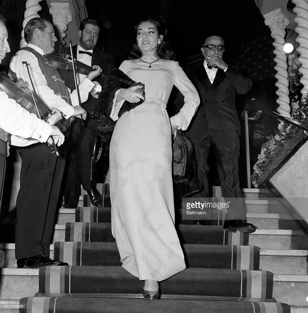 Aristotle Onassis Shown With Maria Callas At Opening Of New Play Maria Callas Aristotle Onassis Calla