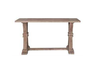 With a French Directoire style this x-base console table is rustic yet elegant.