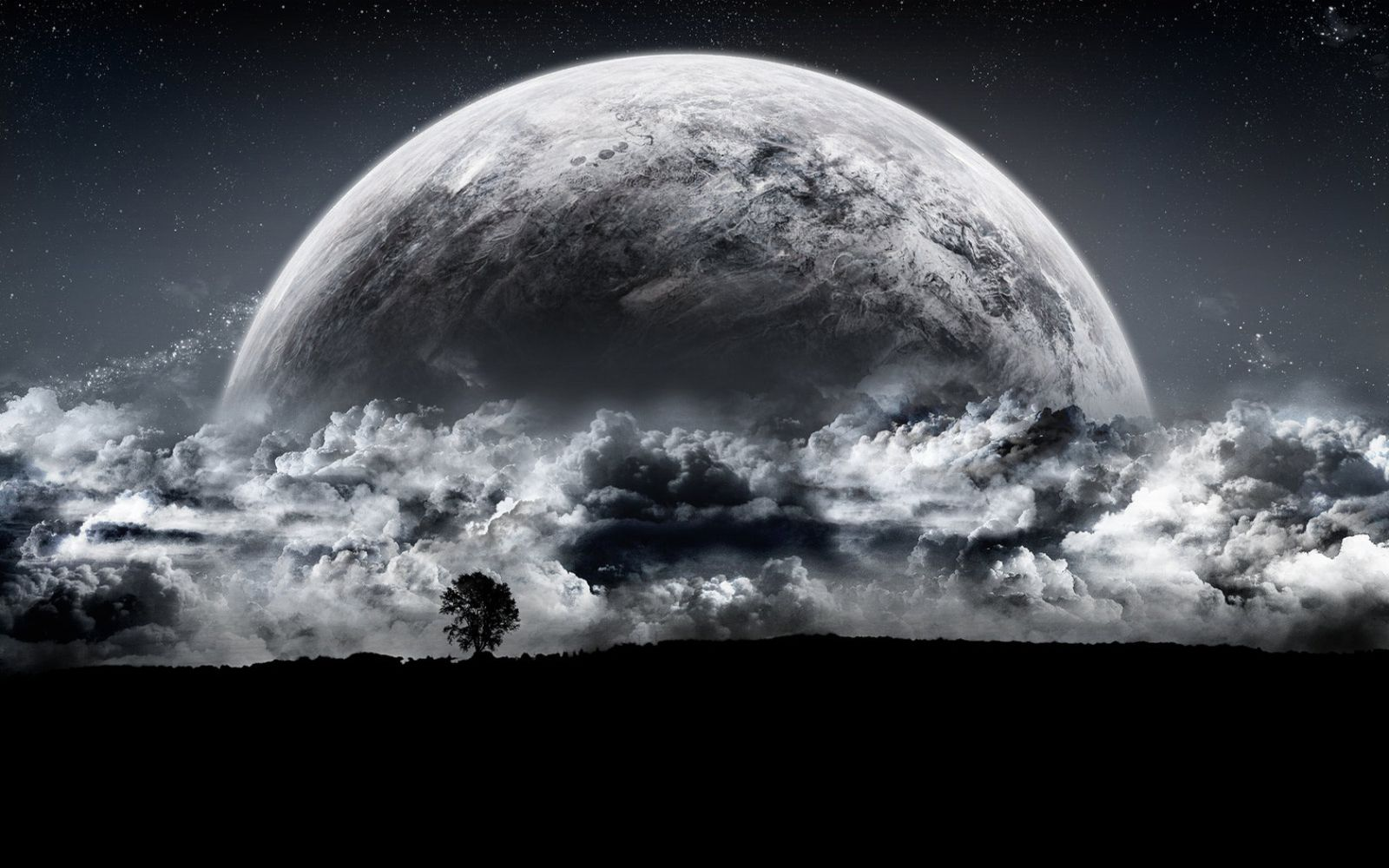 Download 150 Hd Wide Screen Wallpapers Wallpaper Pack Planets Wallpaper Beautiful Moon Dark Moon