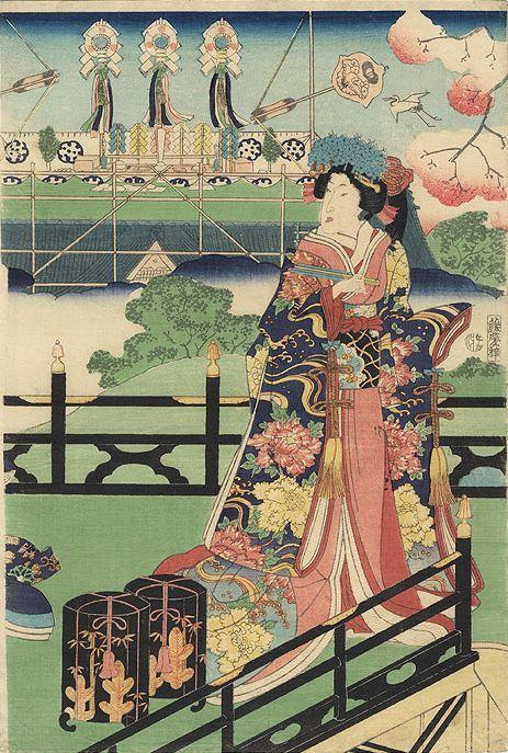 ARTMEMO - Jeune femme sur une terrasse
