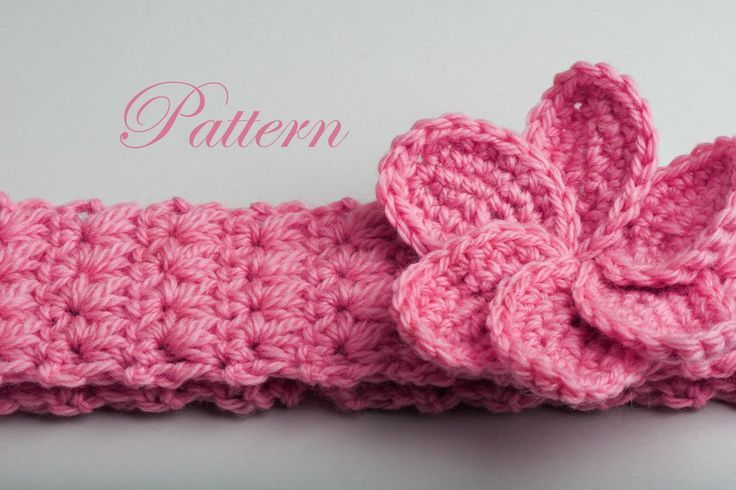 Free Crochet Patterns For Headbands Crochet Baby Headbands