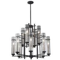 feiss mf262984afbs large foyer chandelier 30 width lighting