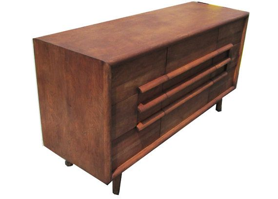 Furniture Guild Of California 9 Drawer Walnut By Foundobjects