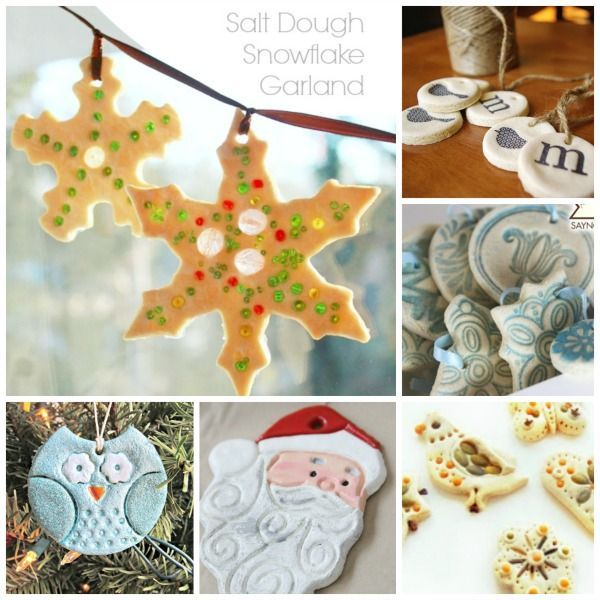 30Salt Dough Crafts - something for every season + these fantastic 10 salt dough Christmas Ornaments