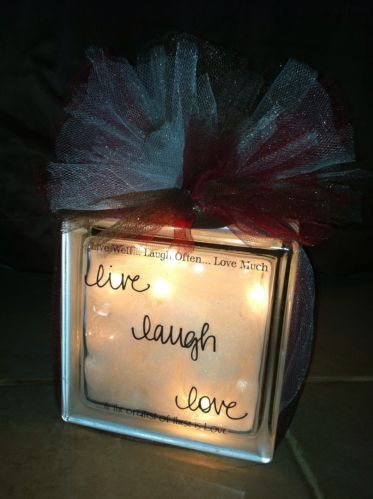 Live, Laugh, Love Night Light message me for shipping details!