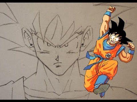 how to draw goku
