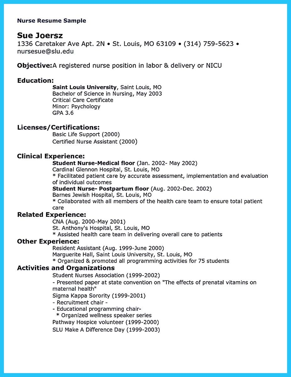 Nice High Quality Critical Care Nurse Resume Samples Check More At