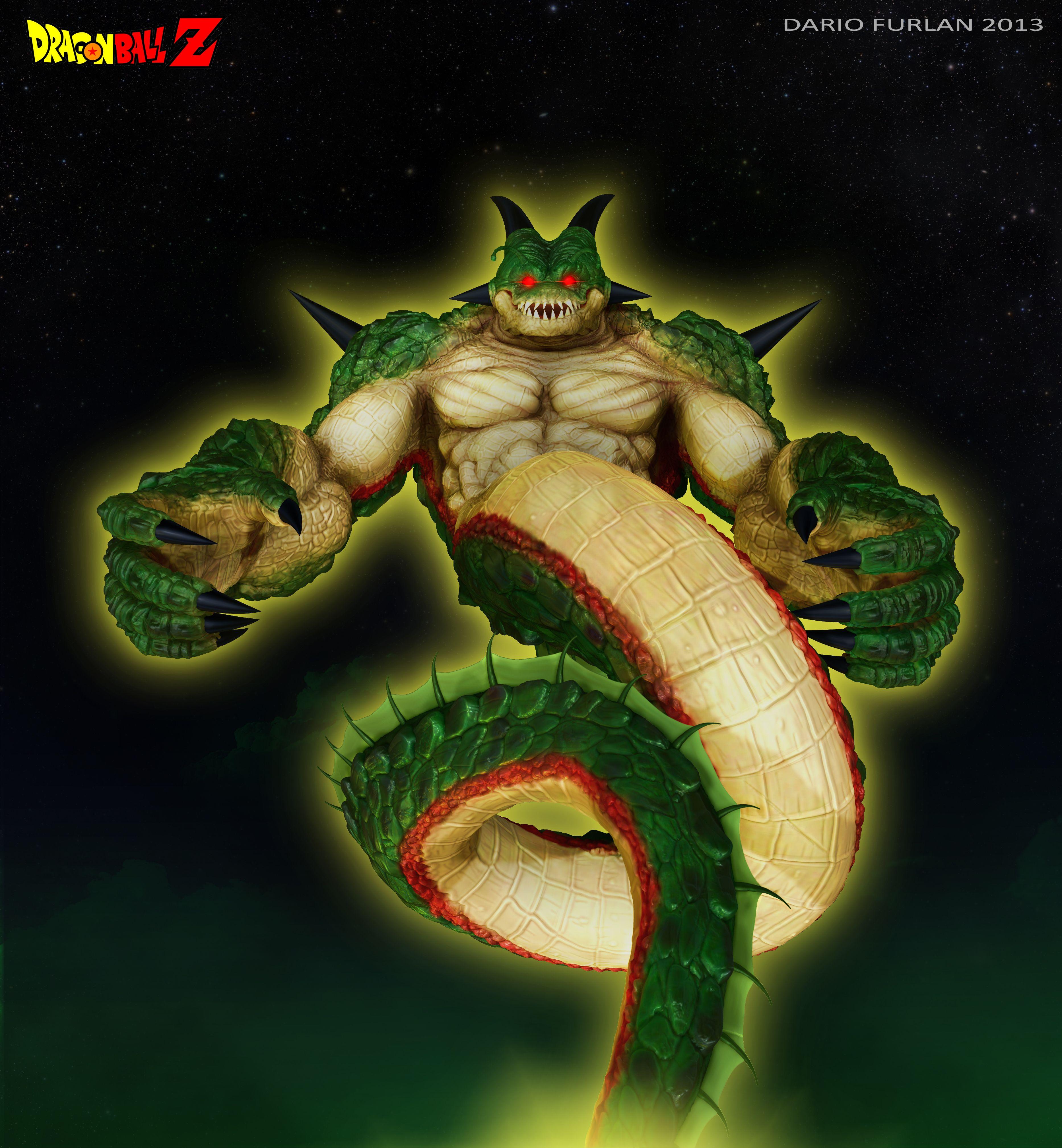 Porunga Dragon Final By Dantertdeviantart On DeviantART