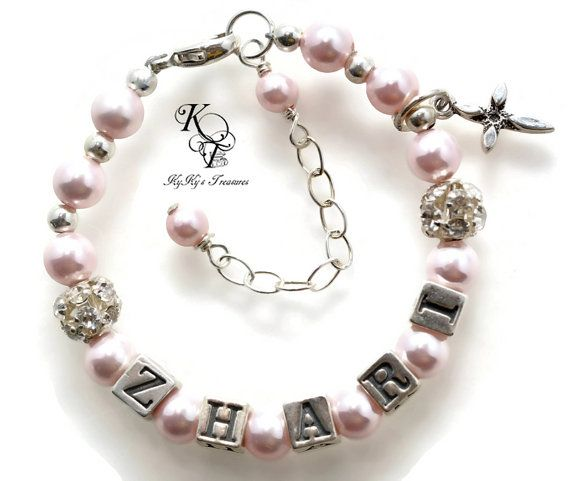 gift o baptism bracelet catholic godparent baby rosary girl for listing