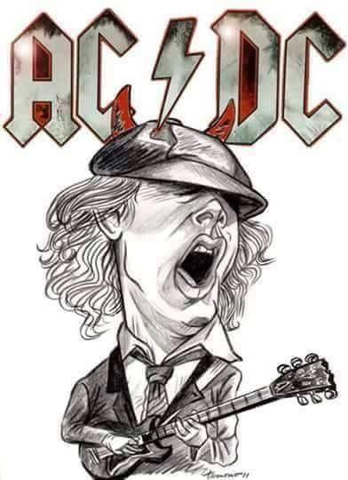 Pin De Melody Dodd En Ac Dc Dibujos Imagenes De Rock Diseno De Personajes