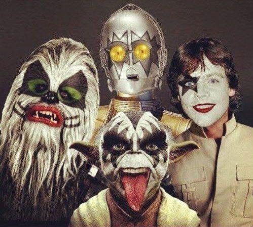 Star Wars Kiss. Hilarious